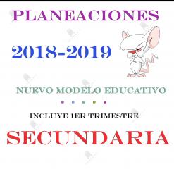 planeaciones de secundaria