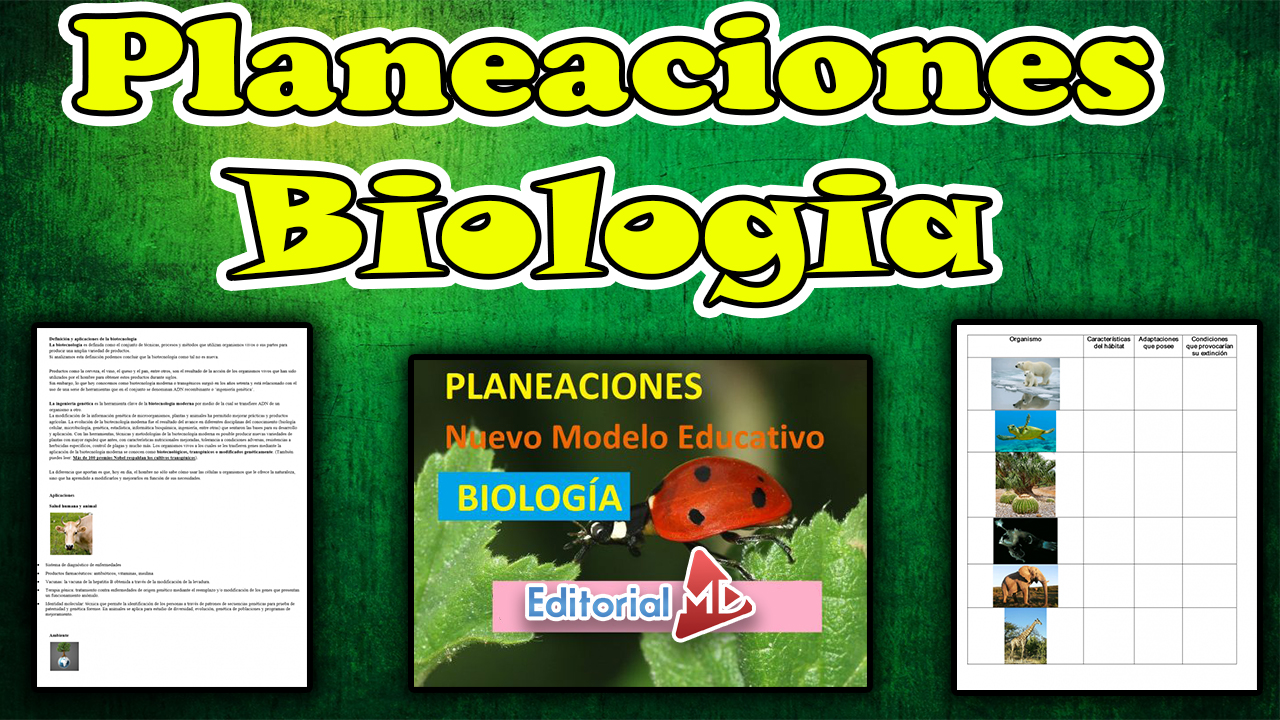 planeaciones biologia Secundaria