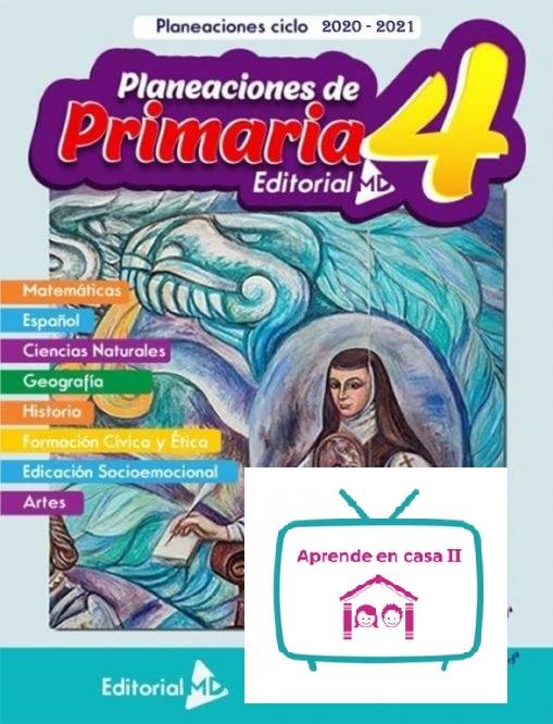 planeaciones de cuarto grado de primaria aprende en casa