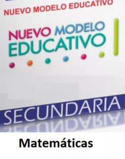 Planeaciones de Matemáticas 1 2 y 3° de Secundaria (Ciclo 2020-2021)
