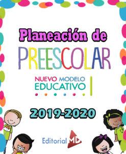 Planeaciones de preescolar ciclo 2019-2020