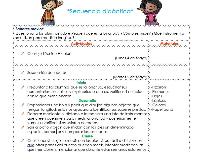 planeaciones del mes de mayo para preescolar