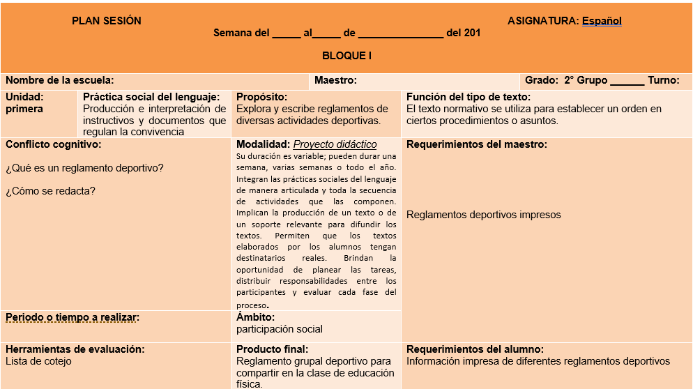 planeaciones español segundo grado secundaria