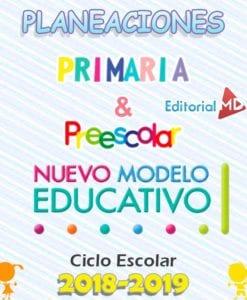 planeaciones preescolar y primaria nuevo modelo