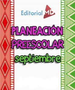 Planeaciones de Preescolar de Septiembre
