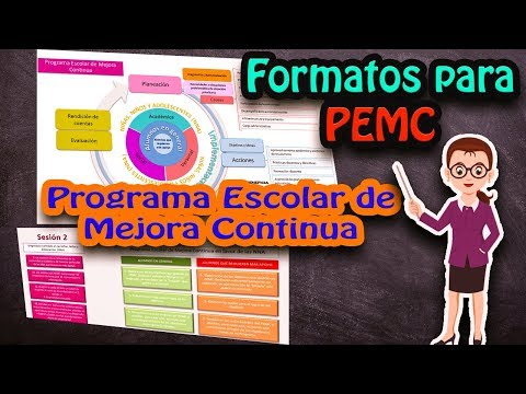 pmec programa de mejora continua escolar