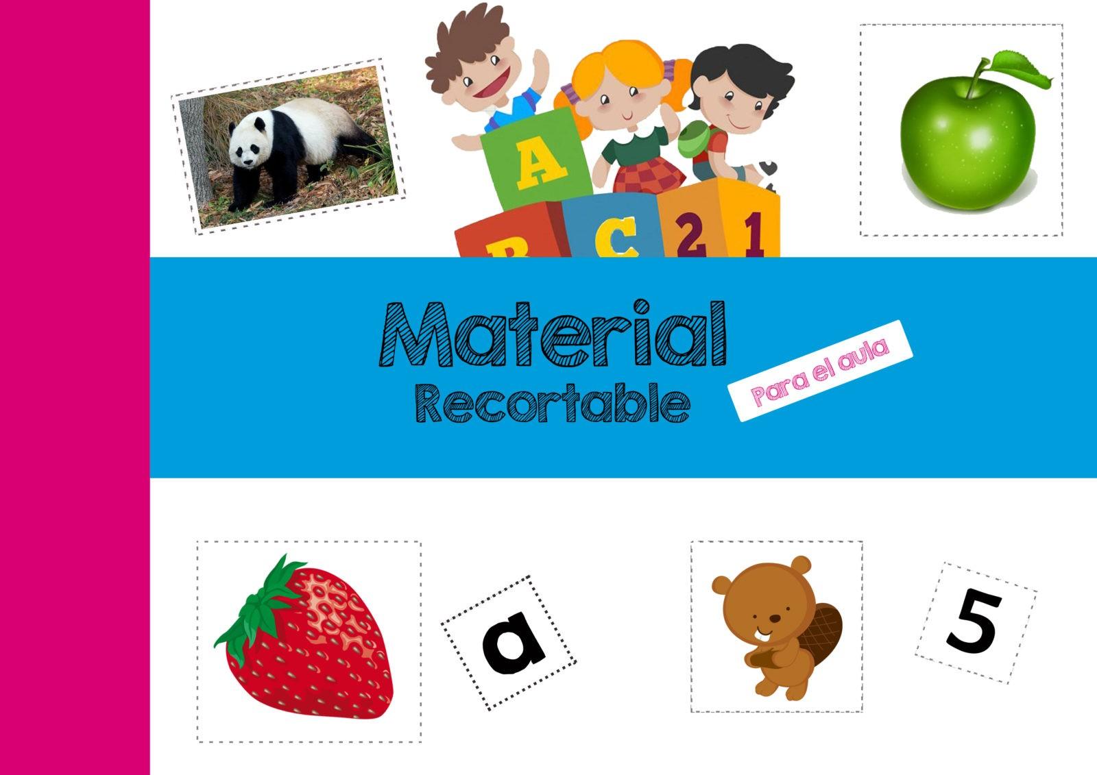 Material Recortable para Preescolar y Primaria