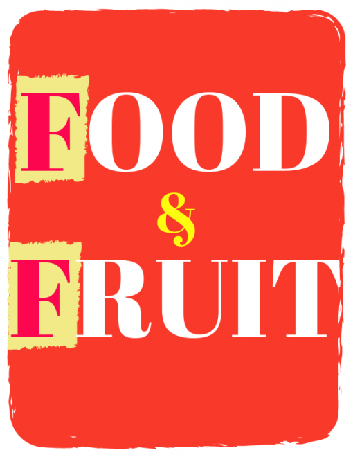 Flash cards food and fruit