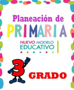 planeación de Primaria 3° Grado