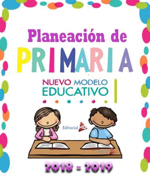 planeaciones de primaria con el nuevo modelo educativo