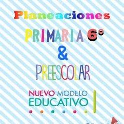 Planeación preescolar y primaria 6
