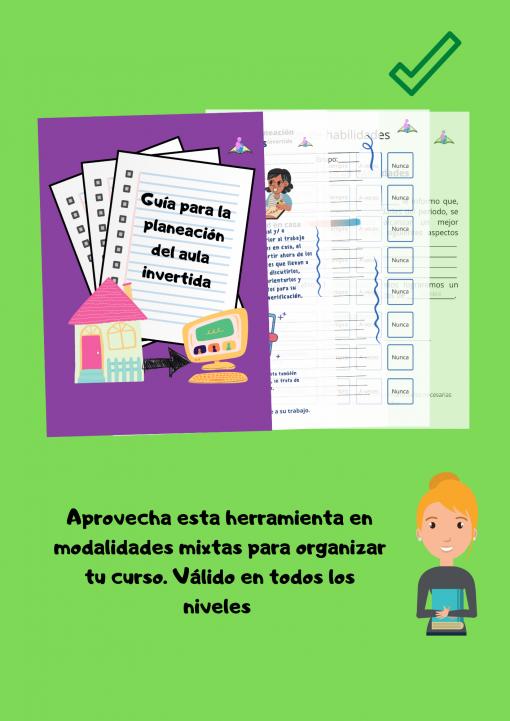 Guía de planeación para el aula invertida