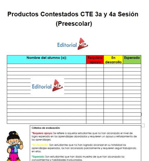 productos contestados cte 3 y 4 sesion