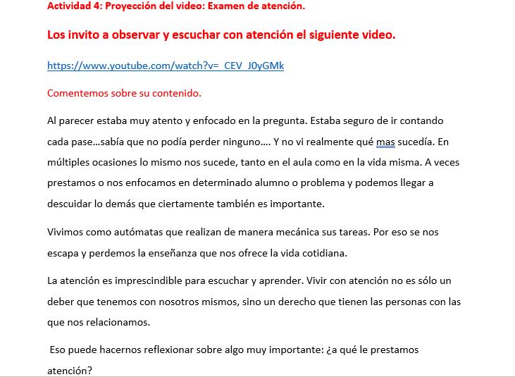 productos contestados de los videos del Consejo tecnico escolar