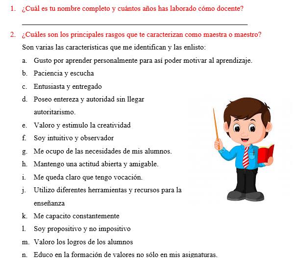 productos contestados del CTE nueva escuela mexicana
