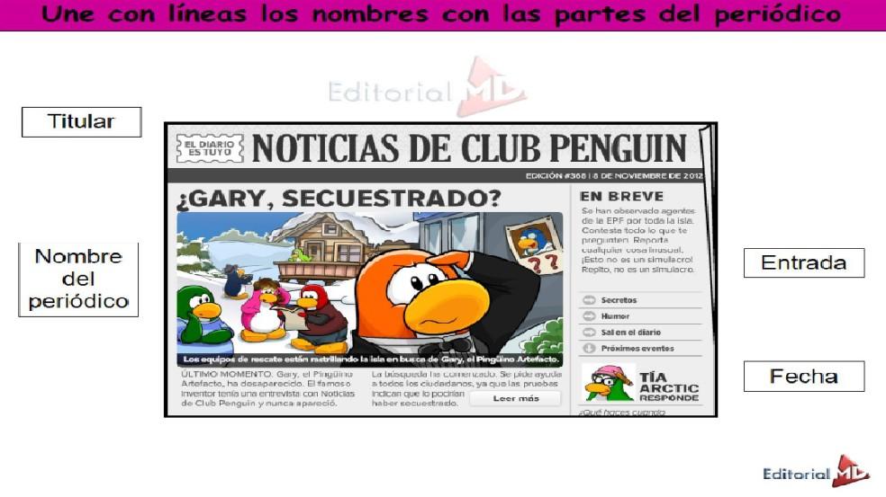 ejemplo de un periódico