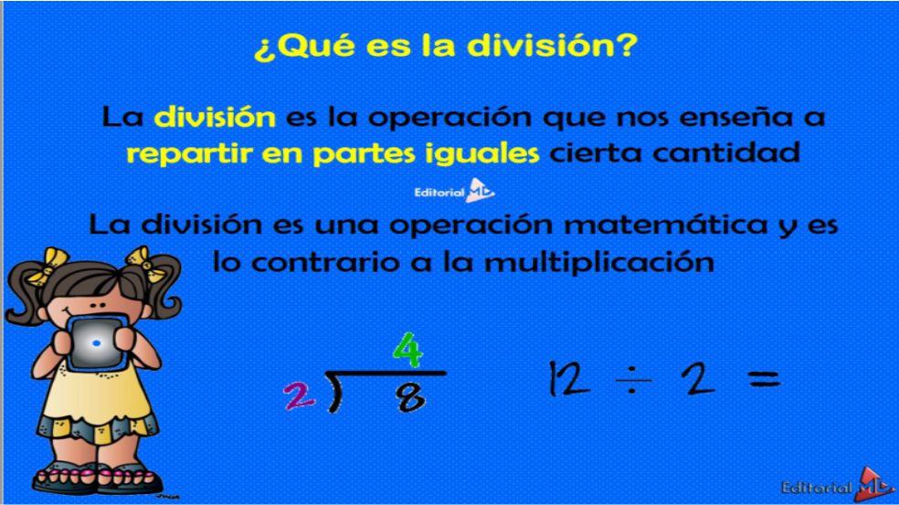 que es una division