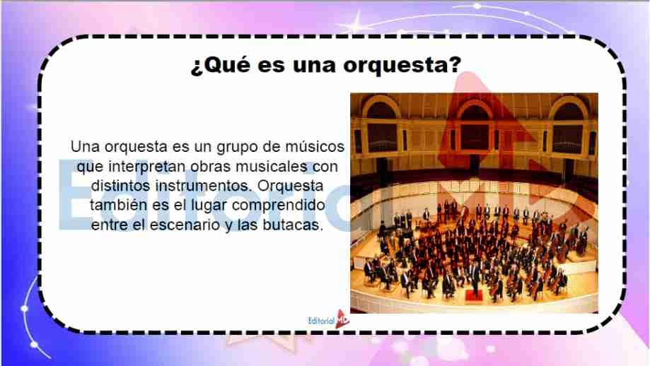 que es una orquesta