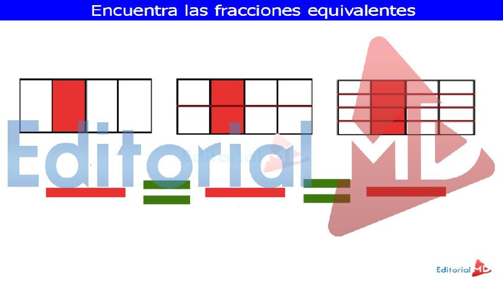 que son las fracciones equivalentes