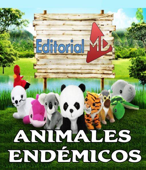 animales endémicos para niños