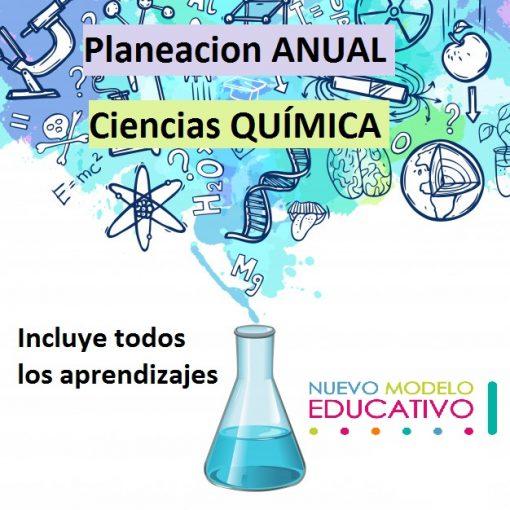 Planeacion Anual Ciencias Química