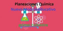 Planeaciones Química secundaria nuevo modelo educativo