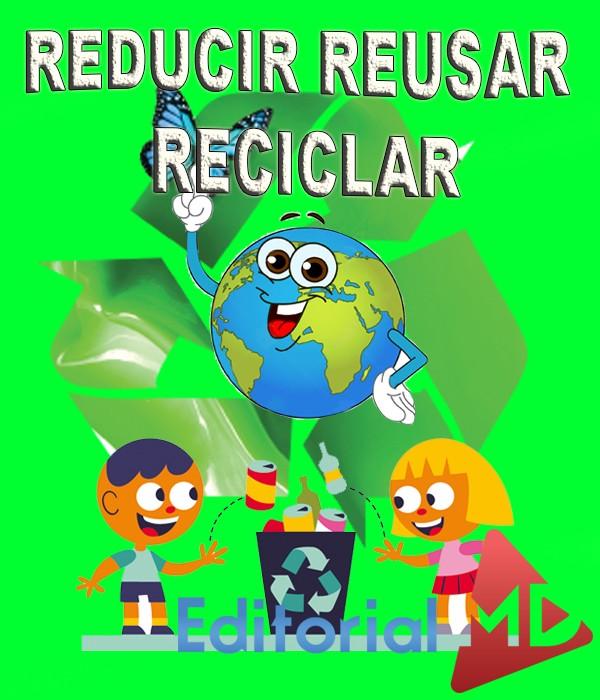 Las 3 r reducir reusar reciclar medio ambiente para ni os for Dibujos de las 3 r