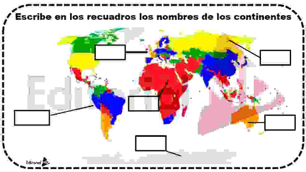 regiones continentales
