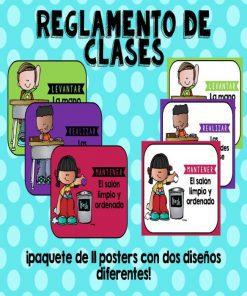 reglamento de clases para imprimir