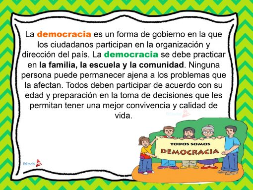 significado de democracia