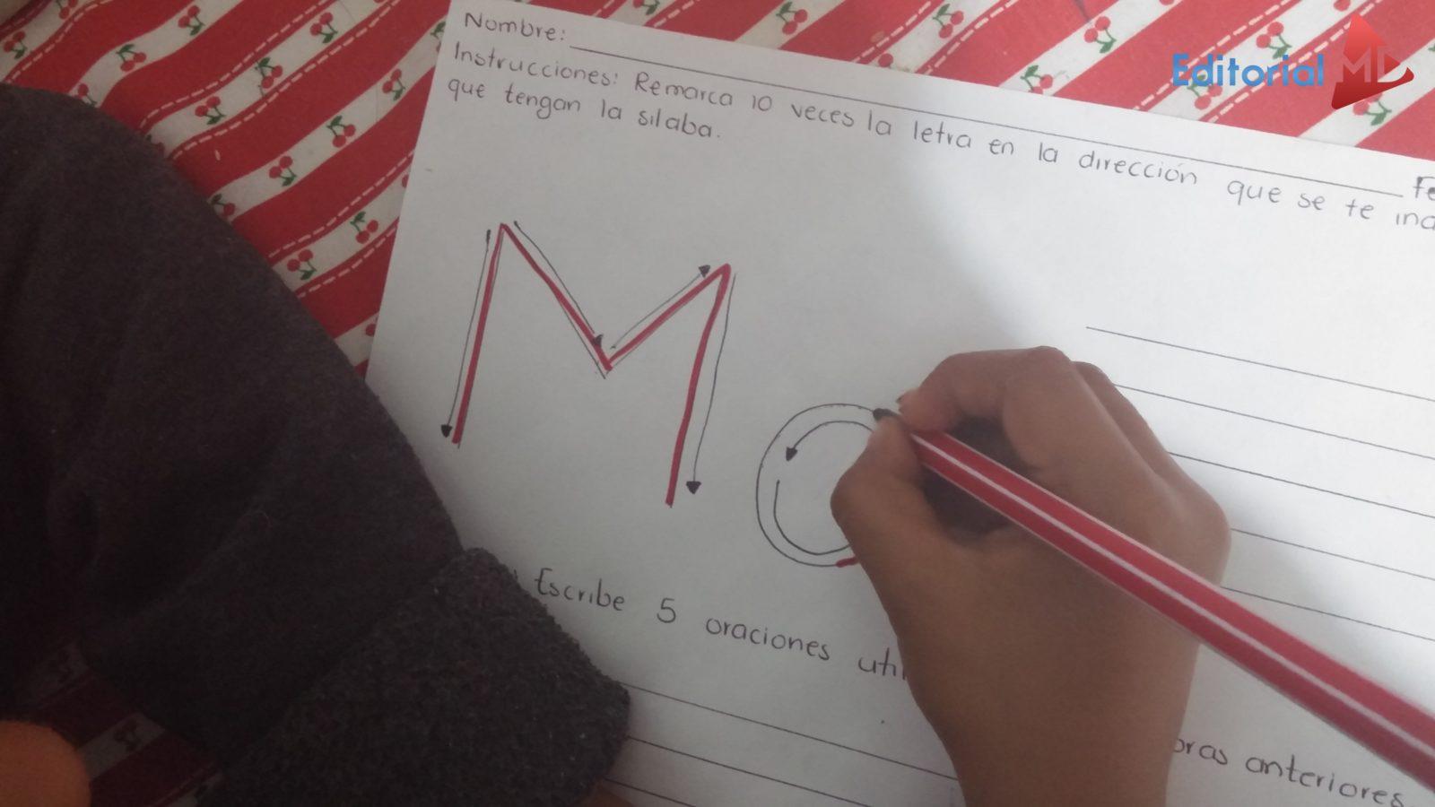 ejercicios  de silabas simples