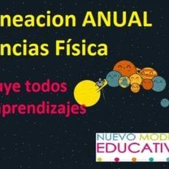 Planeacion Anual Ciencias Física