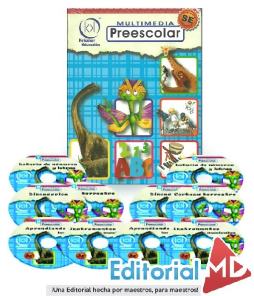 software educativo Preescolar CDS