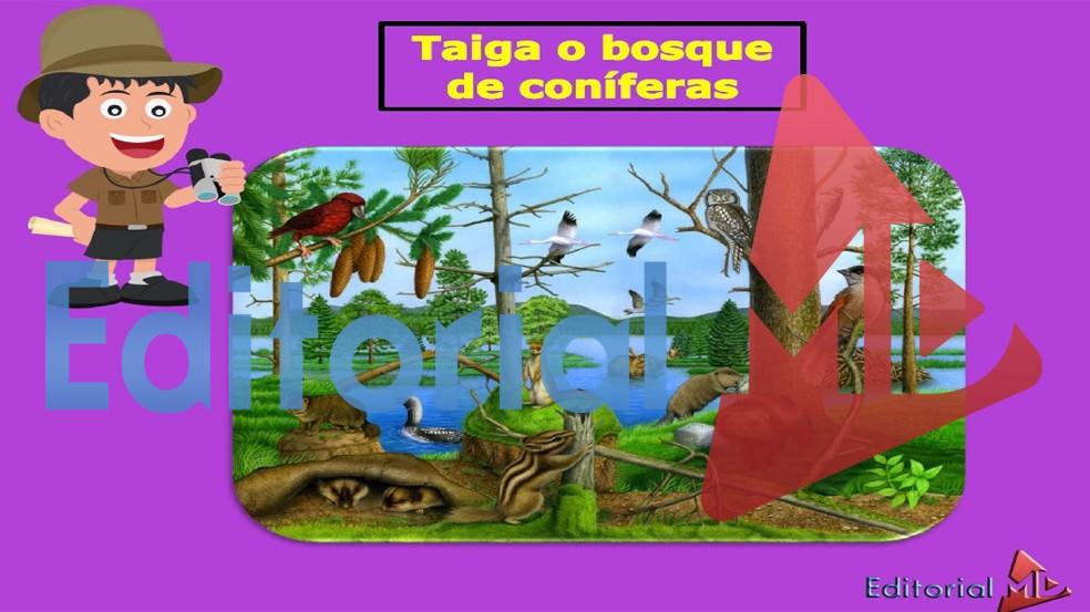 ejemplo de Las Regiones Naturales para niños