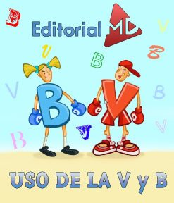 uso de la b y v explicado a los niños
