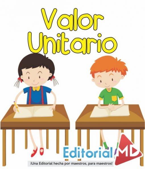 valor unitario para niños